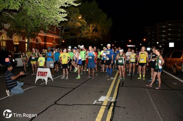 midnight5k starting line