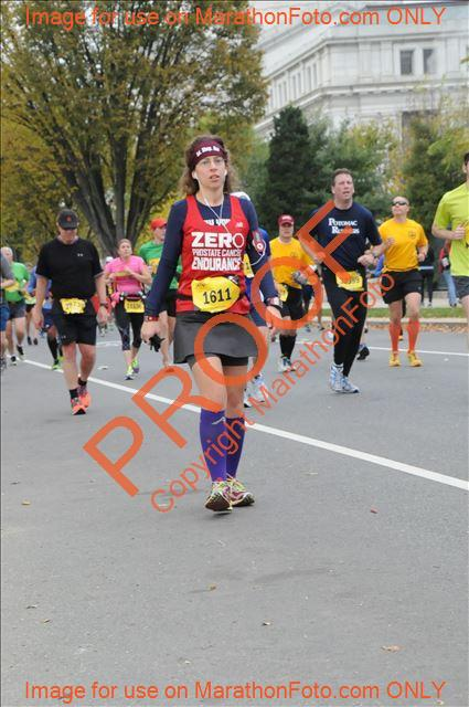 Marine Corps Marathon, October 2013. Not long before I dropped out from foot pain.