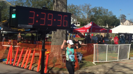 Chickamauga Battlefield Marathon, November 2015