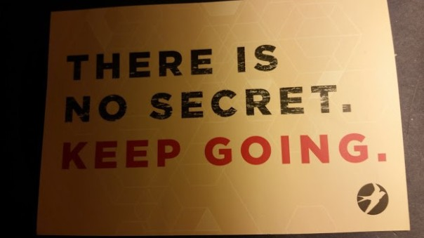 no secret