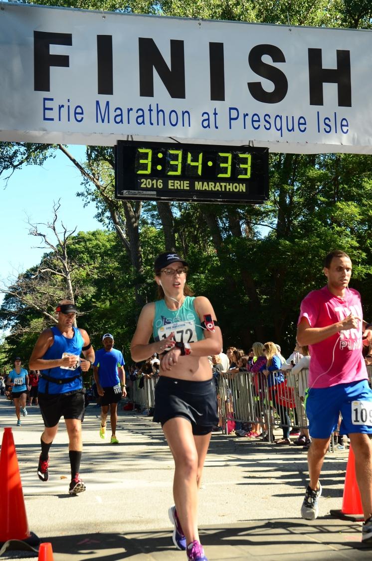 Erie Marathon, September 2016